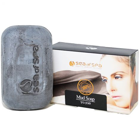 Black Mud Soap with Dead Sea Minerals by Sea of Spa - Made in Israel