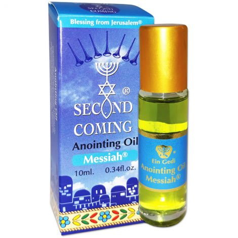 Second Coming 'Messiah' Anointing Oil - 10 ml Roll-On - Made in Israel