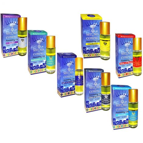 Full Set of 'Second Coming' Anointing Oil from Israel - 10 ml Roll-On