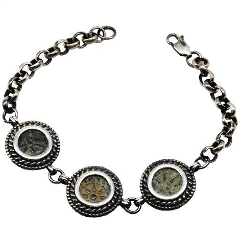 Authentic Widow's Mite Bracelet - Made in the Holy Land