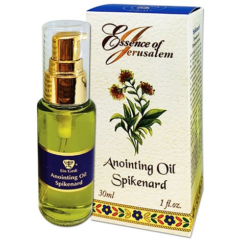 Anointing Oil - Essence of Jerusalem - Spikenard - 30 ml