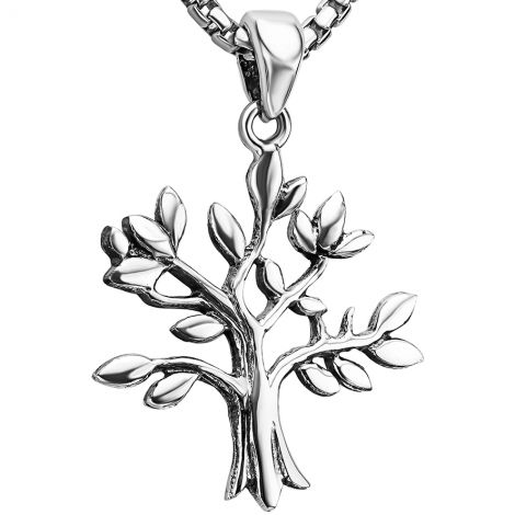 'Tree of Life' Sterling Silver Necklace from Jerusalem