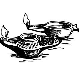 Can I use olive oil in an oil lamp?