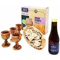 Olive wood Lord's Supper sets (communion)