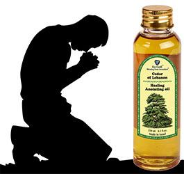 Prayer for Healing with Anointing Oil