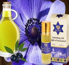 What is Anointing Oil Made of?