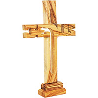 The Gospel message in olive wood