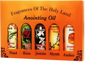 Anointing Prayer oil